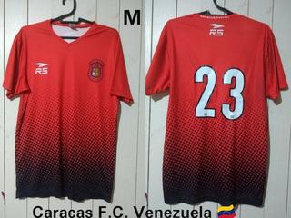 Camisa Caracas Futebol Clube Da Venezuela