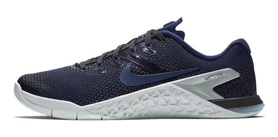 Tênis Nike Metcon 4 Crossfit Blue Strong 3d High Perfomance