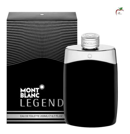 Perfume Legend Montblanc 200ml Original Lacrado Top