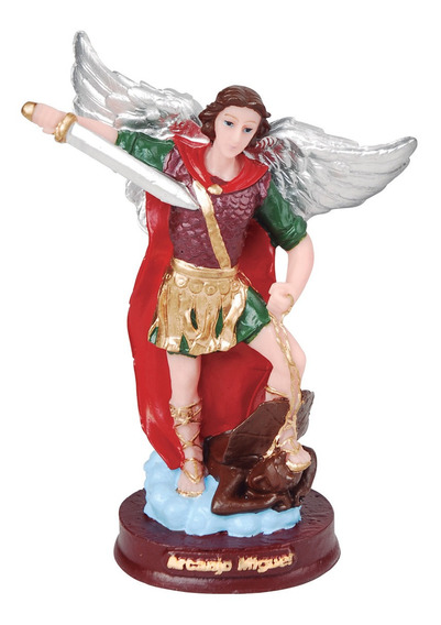 50 Imagem São Miguel Arcanjo 7cm Religioso Lembrancinha