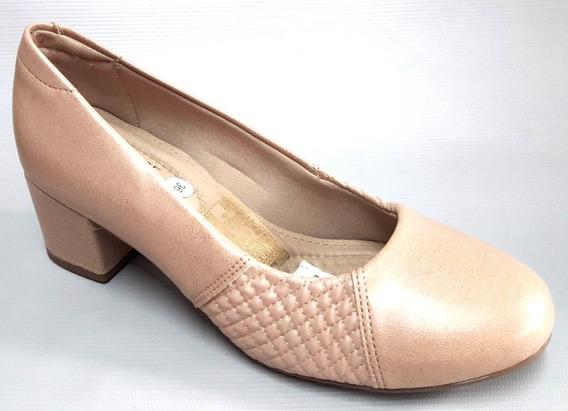Zapatos Mujer Cerrados Taco Bajo Cuadrado Modare 7316108