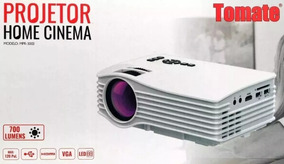 Mini Projetor De Led Full Hd 1080p 700 Lumens Tomate Mpr-300