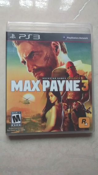 Jogo Max Payne 3 Original Playstation 3