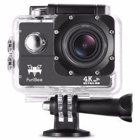 Furibee Câmera De Ação F60 4k Wifi Prova D