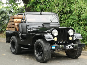 Jeep Ika Negro Modelo 1958, Original Chapa, Motor Y Tranmici