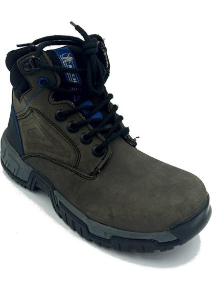 Zapato Michelin Gris Oxford Hombre Trabajo