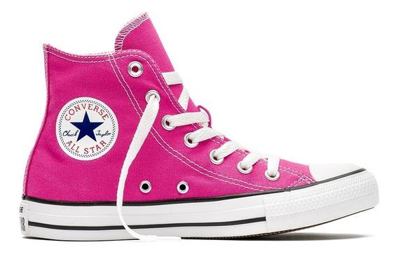 Zapatillas Mujer Bota Converse All Star Hi Magenta