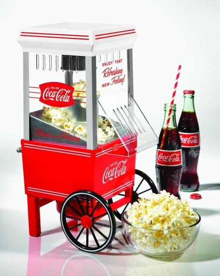 Nostalgia Coca Cola Hot Air Palomitero | Ofp501coke