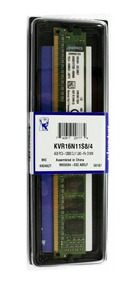 Memoria Kingston 4gb 1600 Mhz Ddr3 Kvr16n11s8/4 Original Pc