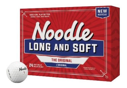 Kaddygolf Pelotas Taylormade Noodle Long & Soft - Caja X 24