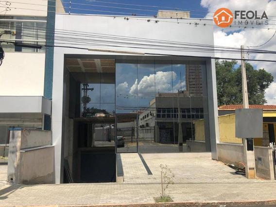Salão Para Alugar, 844 M² Por R$ 25.000,00/mês - Centro - Americana/sp - Sl0226