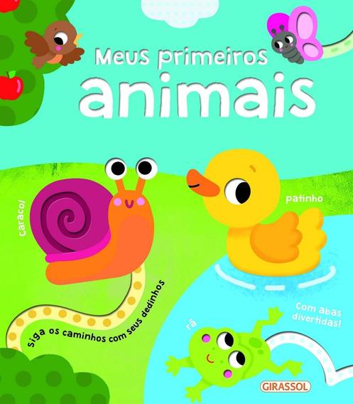 Livro Meus Primeiros Animais C/ Abas Divertidas