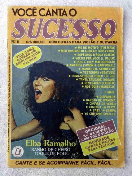 Você Canta O Sucesso Nº 6: Elba Ramalho - Letras Cifradas