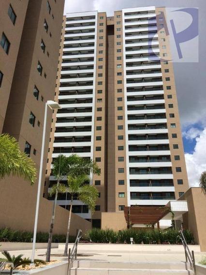 Apartamento Com 2 Dormitórios À Venda, 65,55 M² Por R$ 389.000 - Papicu - Fortaleza/ce - Ap1397