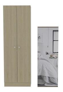 Combo Closet+zapatero- Rovere Blanco. Tuhome