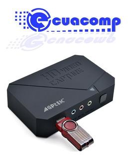 Capturadora Video Hdmi / Ypbpr Agptek Vg0020 Full Hd 1080p