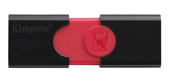 Pendrive Kingston DataTraveler 106 32GB preto/vermelho