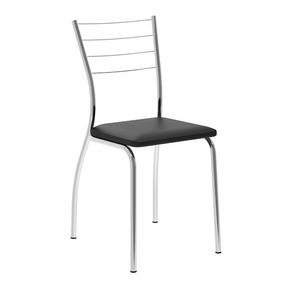 Cadeira Fernanda, Carraro, Preto