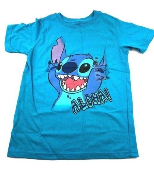 Promo !!! Camiseta Stitch 7-8 Disney Store Original !!!