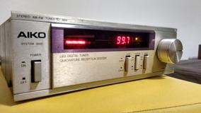 Tuner Aiko Dt 3000 - Excelente Estado - Com Cabo Dim/rca