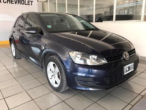 Volkswagen Golf Vii Trendline 2015 Azul