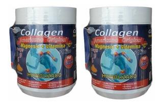 Colageno Hidrolizado Americano + C + Magnesio + Vitaminas X2