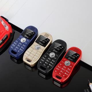Mini Móvel Telefone Personalidade Sports Carro Dual Cartão