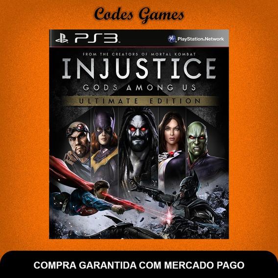 Injustice Gods Among Us Ultimate - Ps3 - Envio Im