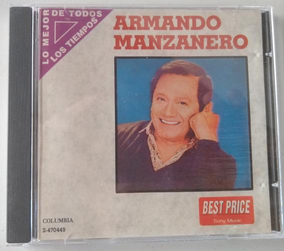 Cd Armando Manzanero- Lo Mejor De Todos Los Tiempos