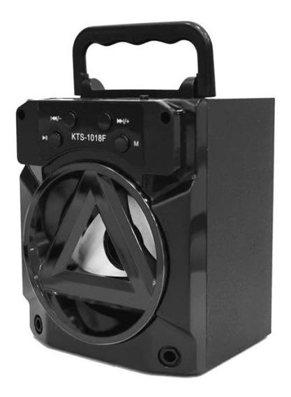 Radio Caixa De Som Portátil Amplificada Usb Fm Bluetooth 8w