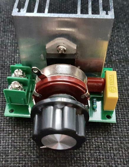 Dimeers Controlador Veloci Termoestatica 3800w 220 Vts