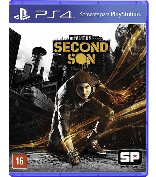 Infamous Secon Son - Mídia Física - Ps4 - Novo