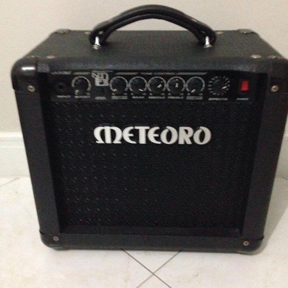 Cubo Guitarra Meteoro Nde15 30w Com Distorção E Efeitos