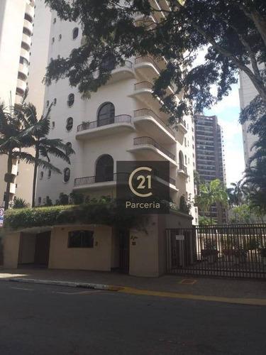 Apartamento Com 4 Dormitórios 2 Suites Para Alugar, 170 M² Por R$ 5.000- Moema - São Paulo/sp - Ap16272