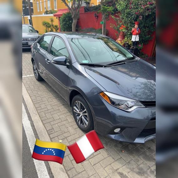 ¿¿¿ Toyota Corolla ¿¿¿ Versión Premium¿ Año De Fabr 2016