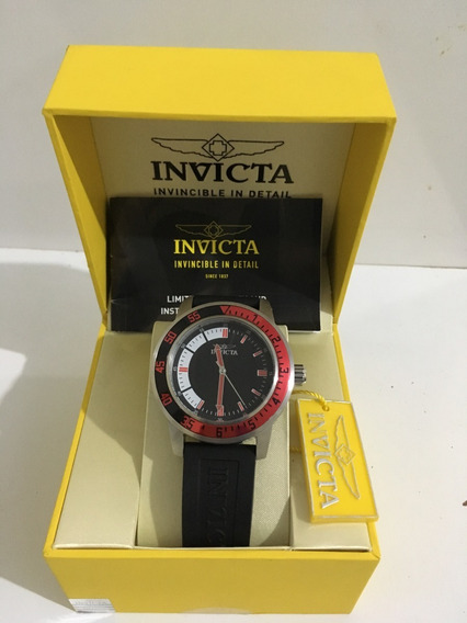 Relógio Invicta Specialty Black Dial 12845 Original