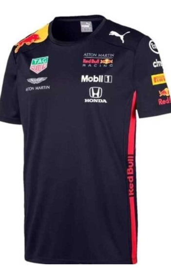Playera Puma Kids Red Bull Racing Equipo Verstappen 100% Ori