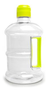 Garrafa Squeeze 2 Litros Alça E Bico Amarelo Hydracta