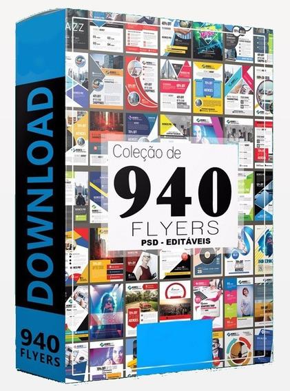 Coleção 940 Flyers + 500 Cartões De Visita + Brinde Especial
