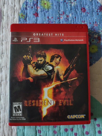 Blu-ray Resident Evil 5 / Biohazard 5 Ps3