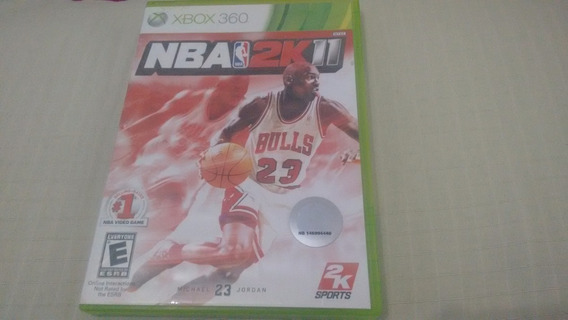 Nba 2k11 - Xbox360 - Completo E Original