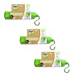 Kit Com 3 Sacolas Eco-bag Carrinho De Supermercado