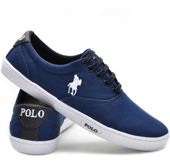 Queima De Estoque Tênis Polo Plus Masculino Casual Promoção!