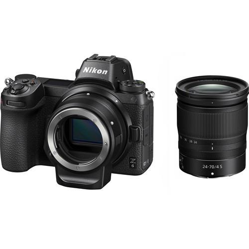 Nikon Z6 Mirrorless Camera Adaptador Ftz E Lente Z 24-70