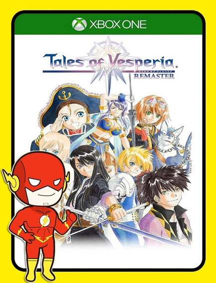 Tales Of Vesperia Definitive Xbox One - 25 Díg (envio Flash)