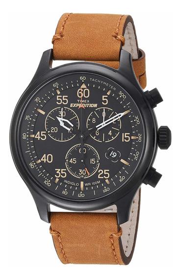 Reloj Timex Expedition Rugged Field Chronograph 43mm Nuevo