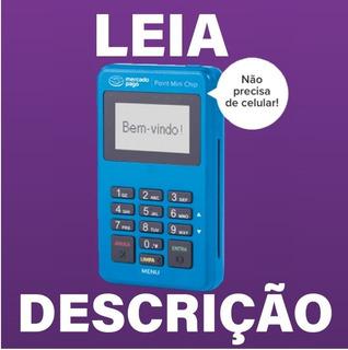 Maquininha Point Mini Chip - Maquineta De Cartão Mercad Pago