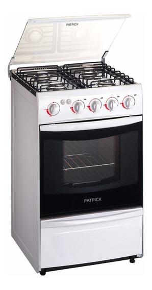 Cocina Patrick Cpf9551bvs - 51cm - Luz Y Enc. - Inox- Vidrio