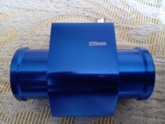 Tubo Para Sensor De Temperatura Em Alumínio 28mm