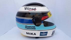 Capacete Mika Hakkinen Temporada 98 Casco Fly